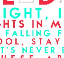 Neon Trees - Lessons in Love Sticker