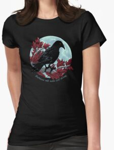 Three-Eyed Omen Womens Fitted T-Shirt