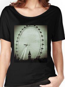 London Eye and Big Ben Women's Relaxed Fit T-Shirt