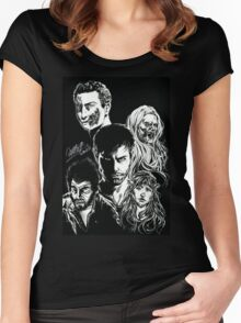 Grimm Fanart Women's Fitted Scoop T-Shirt
