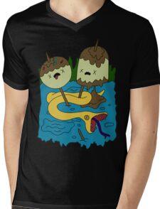 Princess Bubblegum's rock T-shirt Mens V-Neck T-Shirt