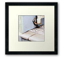 { Corners: where the walls meet #10 } Framed Print