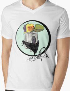 NY fat cap vandal Mens V-Neck T-Shirt