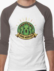 1000 Needles!! Men's Baseball ¾ T-Shirt