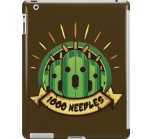 1000 Needles!! iPad Case/Skin