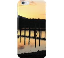 Sunset in the lakes iPhone Case/Skin