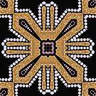 Chunky Tribe Art Deco Geometric by webgrrl
