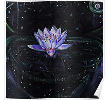 Luminescent Lotus Poster