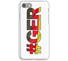 #GER iPhone Case/Skin