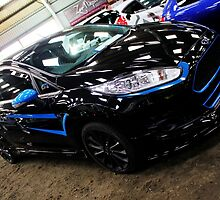Black and Blue Fiesta by Vicki Spindler (VHS Photography)