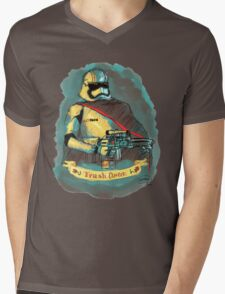 Captain Phasma: TRASH QUEEN Mens V-Neck T-Shirt