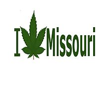 I Love Missouri by Ganjastan