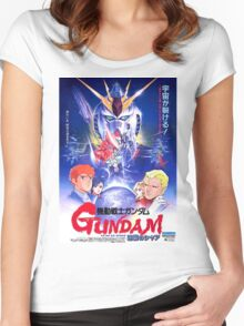 Mobile Suit Gundam - Char's Counterattack Women's Fitted Scoop T-Shirt