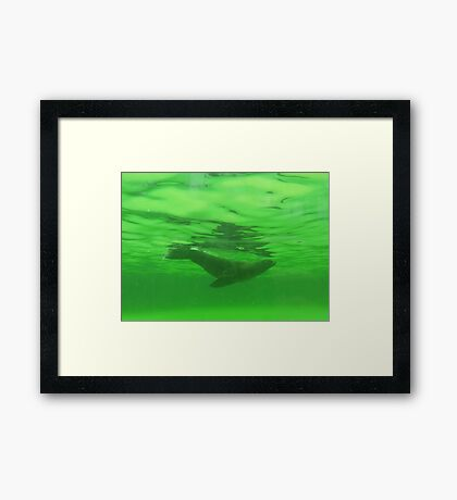 Water Angel II Framed Print