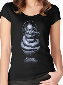 Haunted Mansion Photography 1  Women's Fitted Scoop T-Shirt