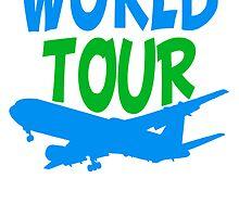 TripAdvisor World Tour World Earth Airplane by Style-O-Mat