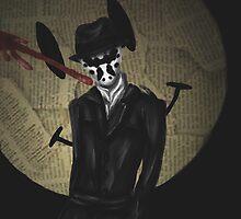 Rorschach-Watchmen by wolfdefender01