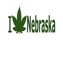 I Love Nebraska by Ganjastan