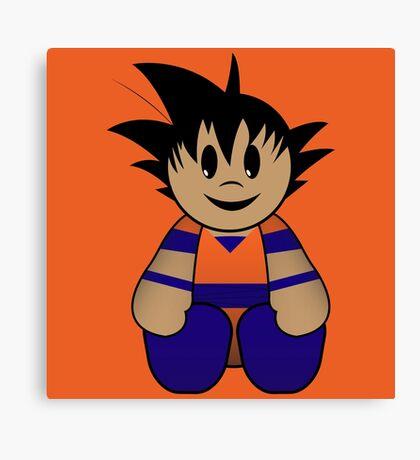 Goku Pal Canvas Print