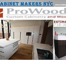 Custom Media Cabinets NYC by cabinetmakerny