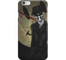 Rorschach-Watchmen iPhone Case/Skin