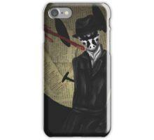 Rorschach-Watchmen iPhone Case/Skin