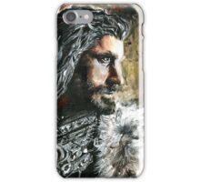 The Hobbit, Torin Oakenshield fanart iPhone Case/Skin