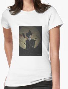 Rorschach-Watchmen Womens Fitted T-Shirt