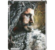 The Hobbit, Torin Oakenshield fanart iPad Case/Skin
