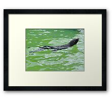 Water Angel Surfaced Framed Print