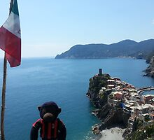 Arthur travels to Vernazza by Ann Maree Moore