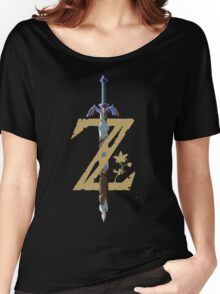 "The Legend of Zelda: Breath of the Wild - ""Z"" Logo Women's Relaxed Fit T-Shirt"