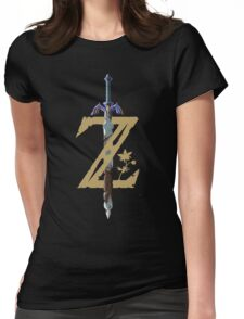 """The Legend of Zelda: Breath of the Wild - """"Z"""" Logo Womens Fitted T-Shirt"""