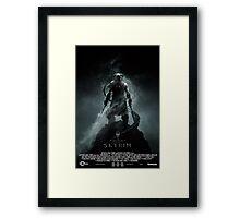 The Elder Scrolls V: Skyrim (Movie Poster Version) Framed Print