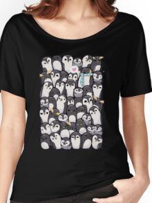 Penguins - Big Family Women's Relaxed Fit T-Shirt