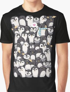Penguins - Big Family Graphic T-Shirt