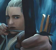 Legolas Greenleaf by wolfdefender01