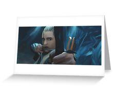 Legolas Greenleaf Greeting Card