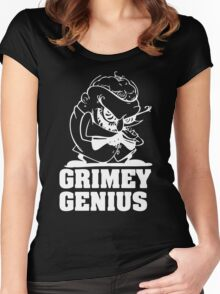 Greedy Genius Women's Fitted Scoop T-Shirt