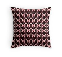 Butterfly Kisses and Pistol Whips (Tinted) Throw Pillow