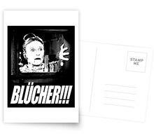 BLÜCHER!!! Postcards