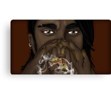 The Fire Breather Canvas Print