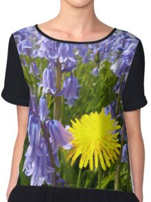 The lonely Dandelion Chiffon Top