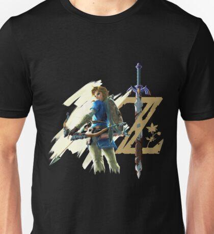 The Legend of Zelda: Breath of the Wild - Link & Logo Unisex T-Shirt