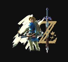 The Legend of Zelda: Breath of the Wild - Link & Logo Unisex T-Shirt