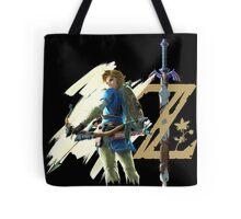 The Legend of Zelda: Breath of the Wild - Link & Logo Tote Bag