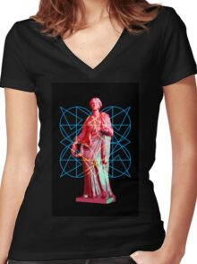 Sabine Woman Women's Fitted V-Neck T-Shirt