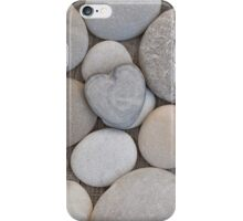 Pebble heart iPhone Case/Skin