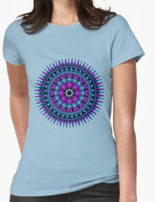Daily Focus Mandala 6.28.16 Womens Fitted T-Shirt