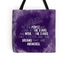 A Court of Mist & Fury - To the people who look at the stars... Tote Bag